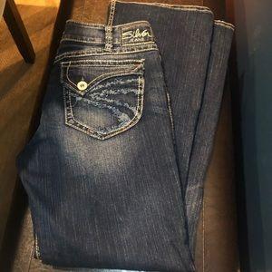 Silver Jeans Women's 32 x 32 Suki Surplus denim
